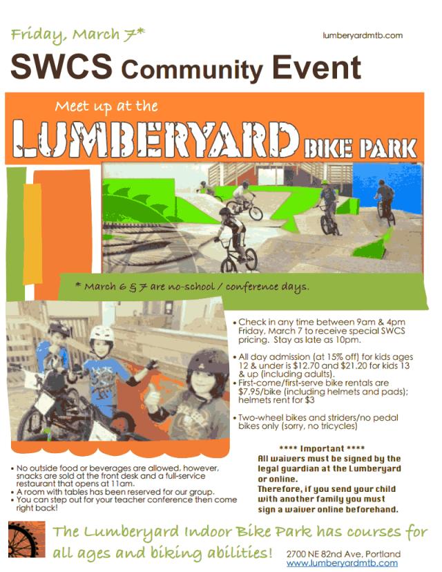 Lumberyard Flyer