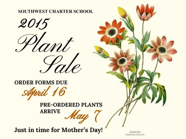 Copy of 2015 Plant Sale