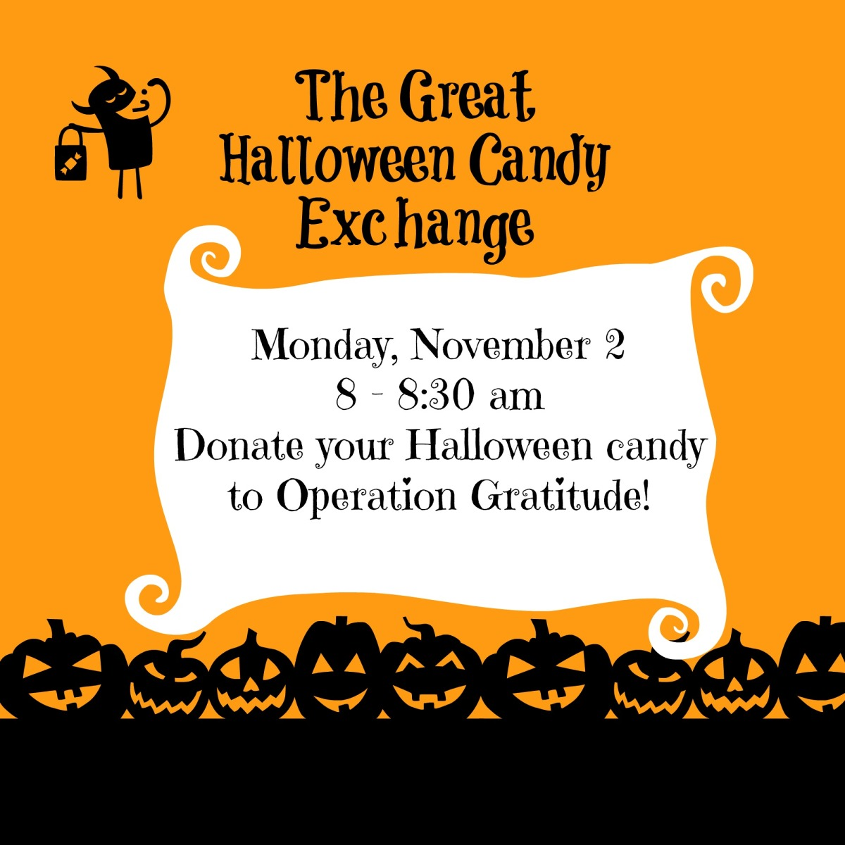 Happy Halloween! Donate Your Candy on Monday to Operation ...